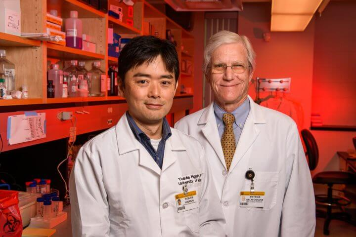 Yusuke Higashi, PhD, and Patrick Delafontaine, MD, have a paper being published in the journal Circulation.