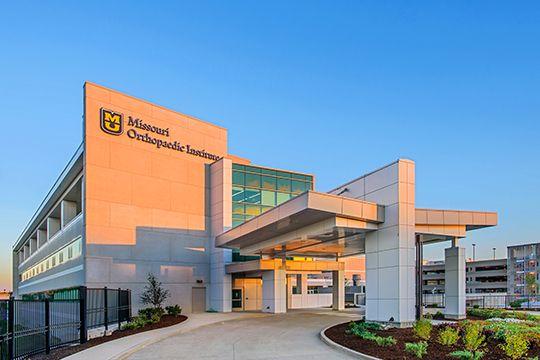 MU Hospital Exterior