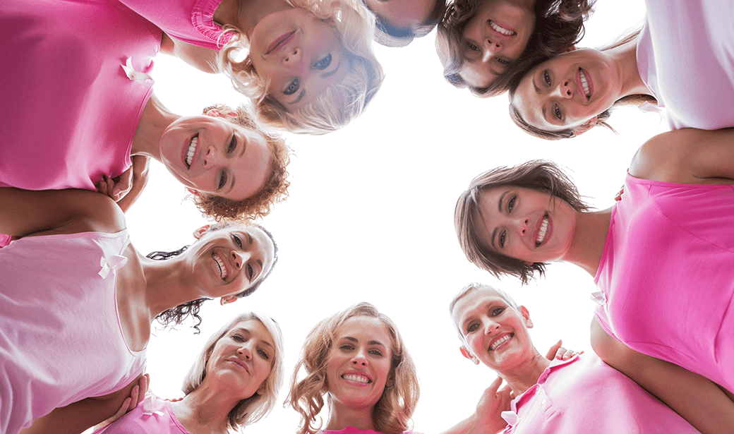 photo of women dressed in pink