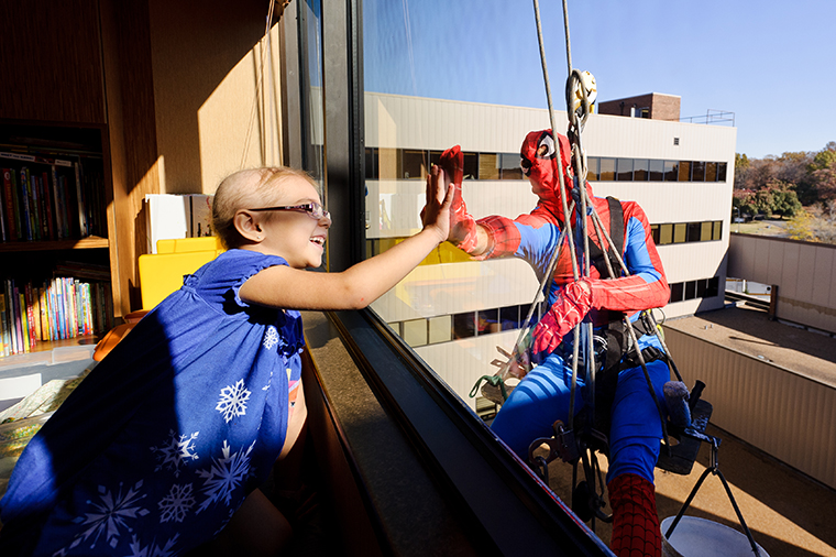 Superhero window washers