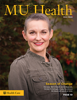 MU Health Fall 2020 Cover