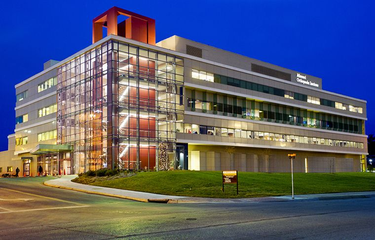Missouri Orthopaedic Institute at night