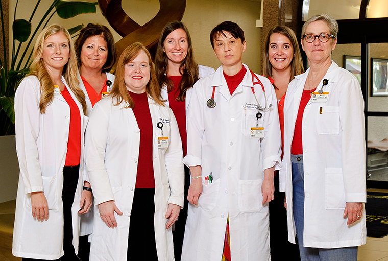 photo of womens heart health doctors