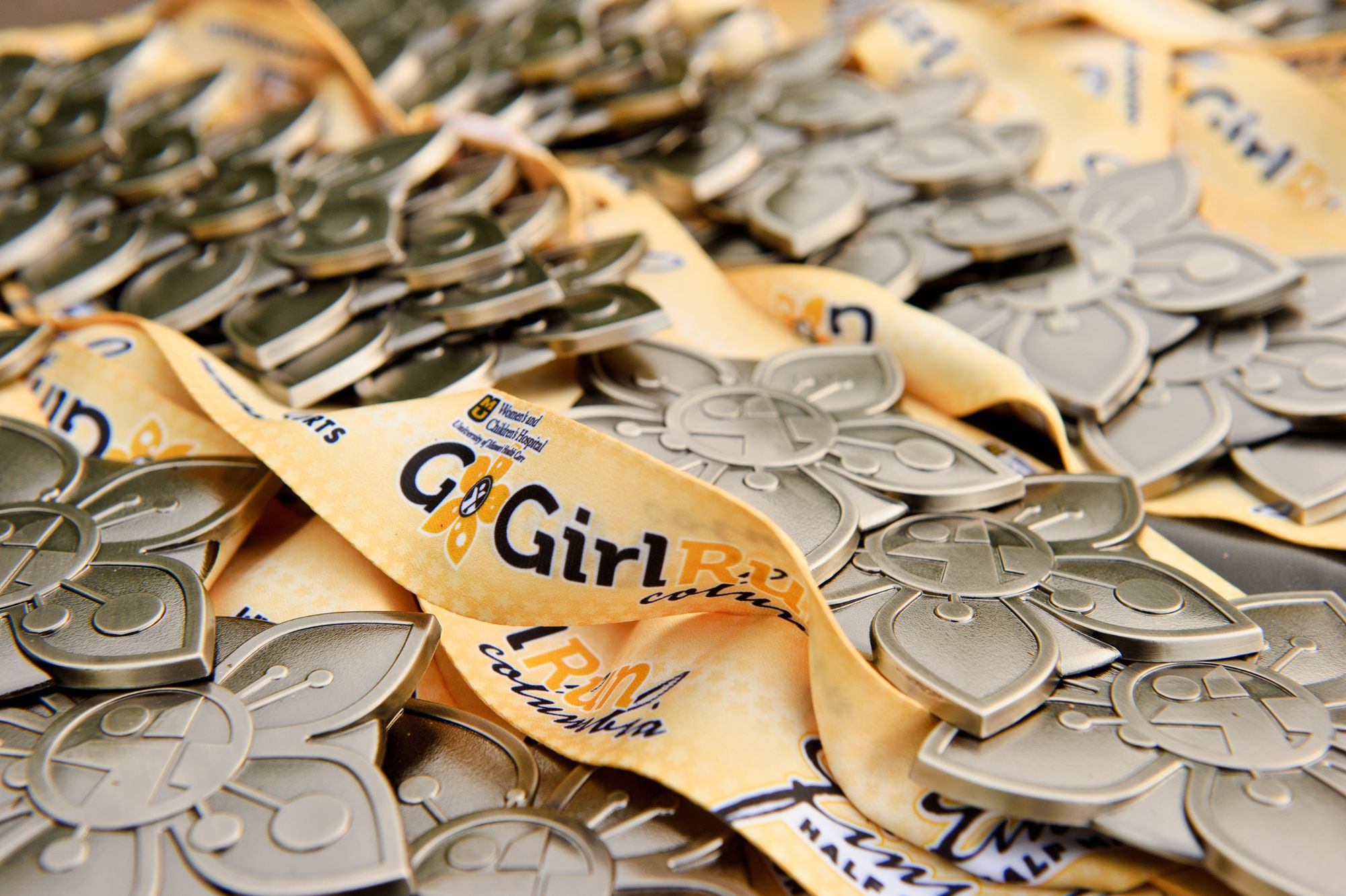 Go Girl Run Medal