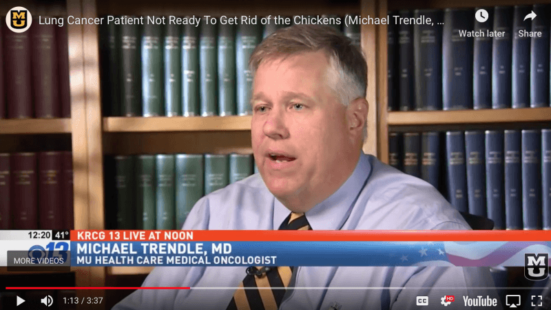 Dr. Michael Trendle Discusses Targeted Lung Cancer Therapy on KRCG