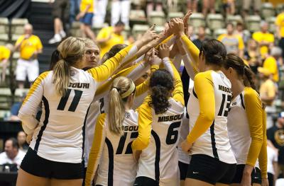 Photo of Mizzou volleyball