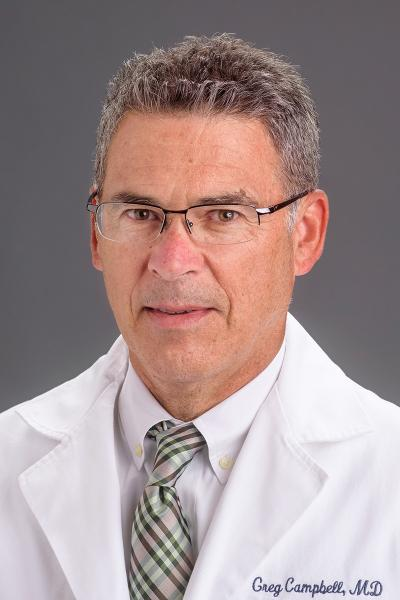 Gregory Campbell, MD headshot