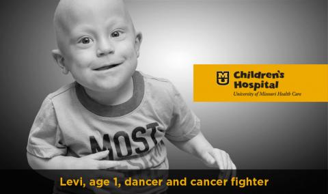 Levi, Dancer and Cancer Fighter