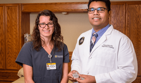 Natalie Taylor, RN, and Pradeep Bollu, MD