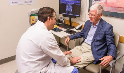 Brett Crist, MD, and Larry Potterfield