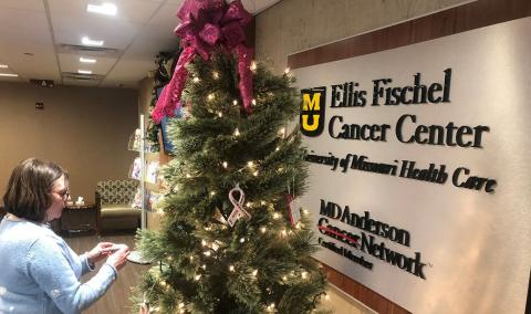 Christmas Trees at Ellis Fischel Cancer Center