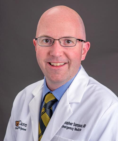 Christopher Sampson, MD headshot