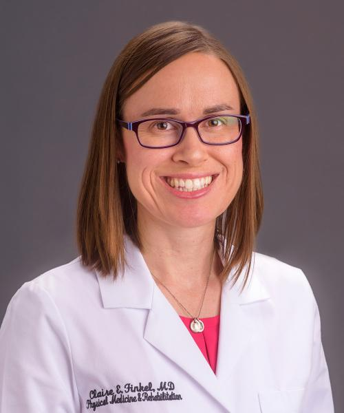 Claire Finkel, MD headshot