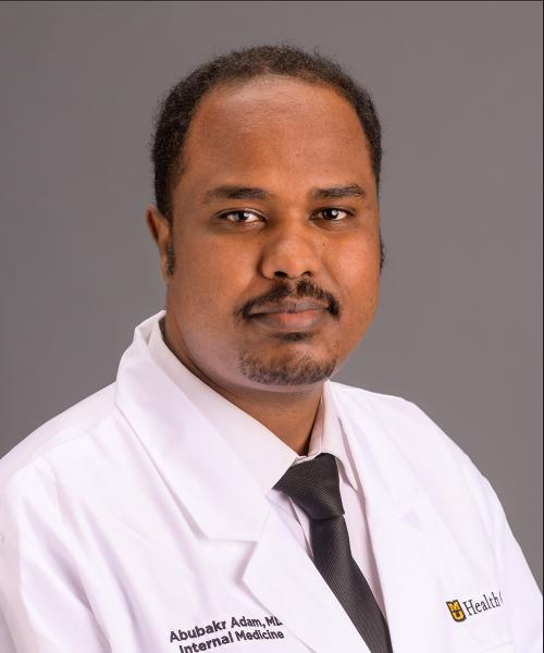 Abubakr Adam, MD headshot