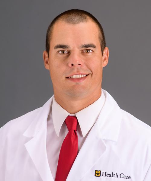 Aaron Borgmeyer, MD headshot