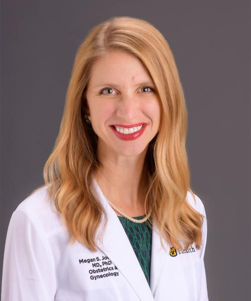 Megan Johnson, MD headshot