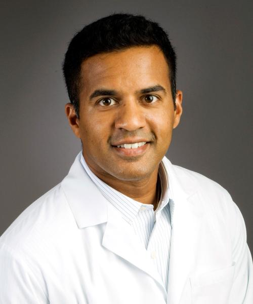 Ebby Varghese, MD headshot