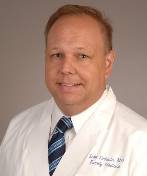 Scott Kinkade, MD headshot