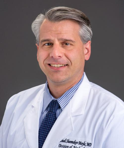 Michael Shoemaker-Moyle, MD headshot