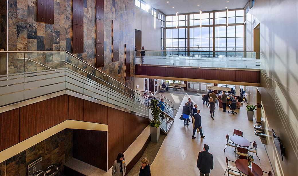 Photo of South Providence Medical Park lobby