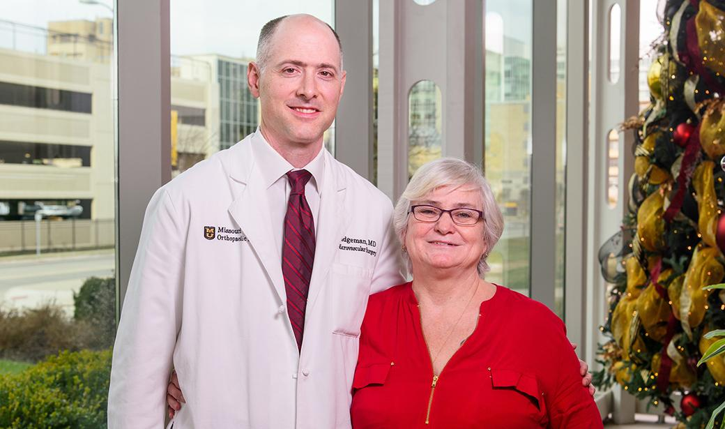 Jay Bridgeman, MD, and Donna Boggs