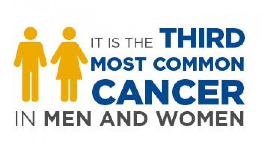 Third most common cancer