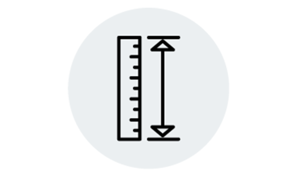 measuring icon