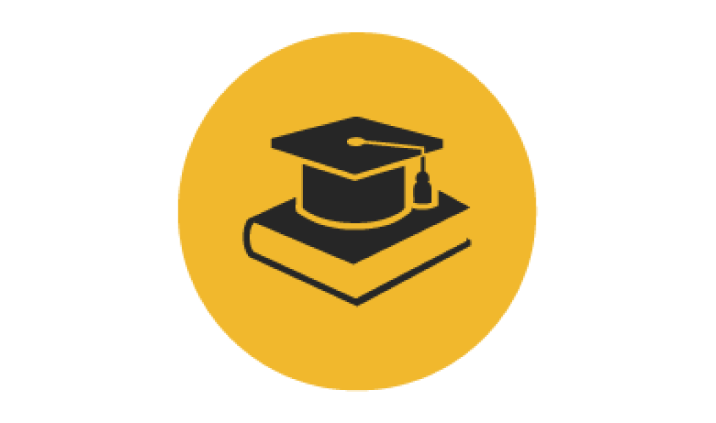 book and cap icon