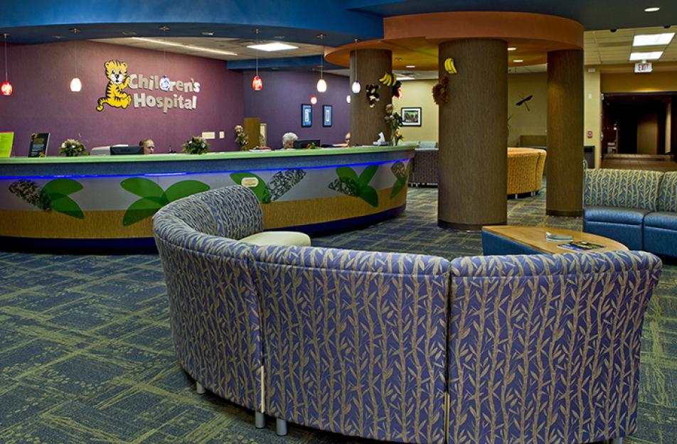 Photo of Children's Hospital lobby