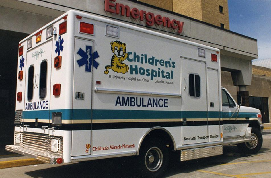 MU Health Care Celebrates 50 Years of Ambulance Service