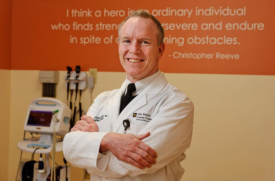 Photo of Dr. Kevin Staveley-O'Carroll, director of Ellis Fischel Cancer Center