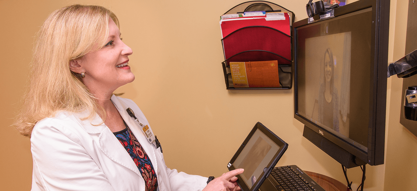 Photo of dermatology telehealth