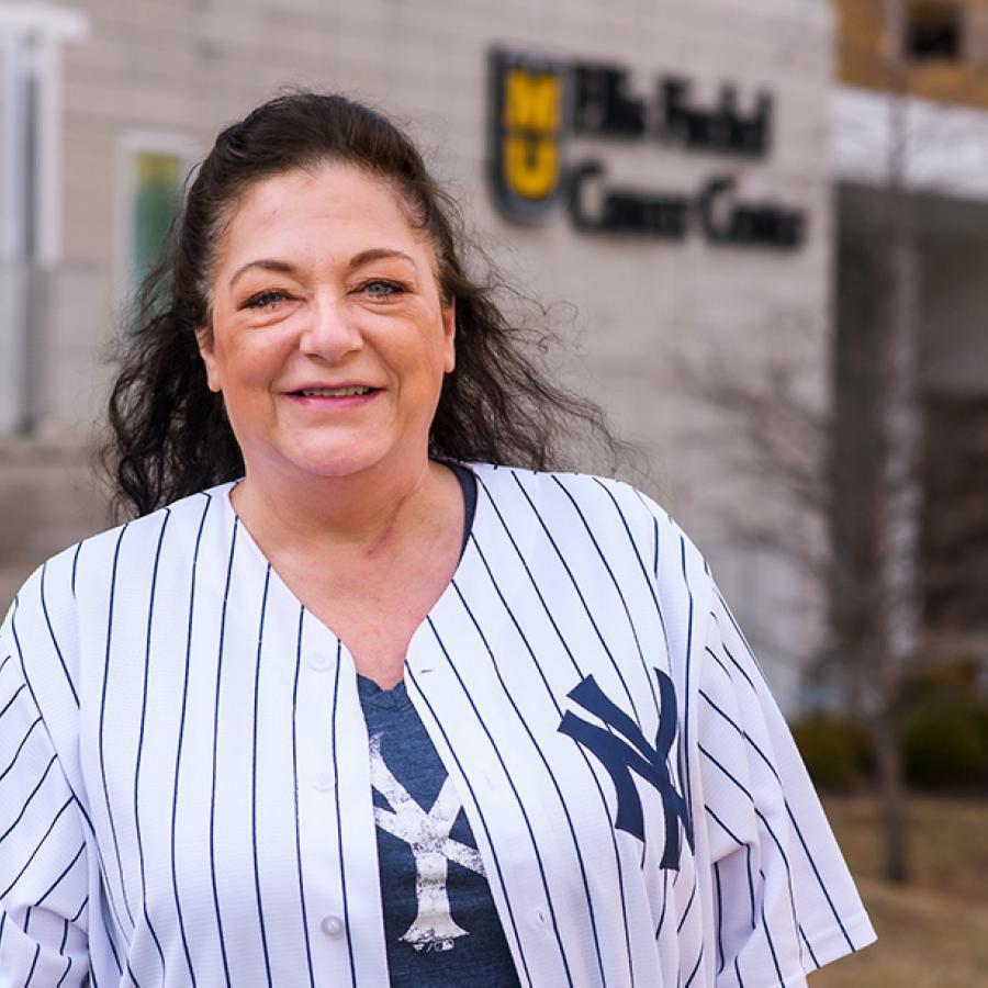 Sue Nelson, MU Health Care patient, colon cancer